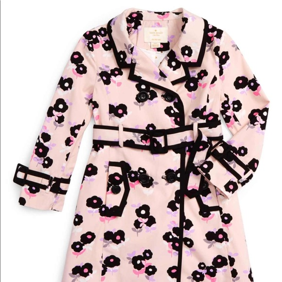 kate spade Other - Kate Spade Topliner Trench Coat Girls Size 4 NWT